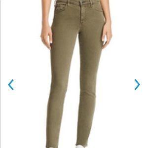 NWT Adriana Goldschmied Army Green Jeans